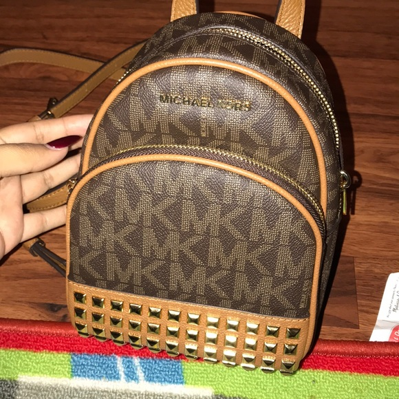 d1627425db2c Michael Kors Abbey XS studded backpack. M_5a6441452ae12ffe90cc5529